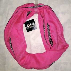 Accessories - Pink Infinity Scarf ABG Accessories NWT